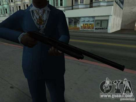 Remington 870 Action Express for GTA San Andreas third screenshot