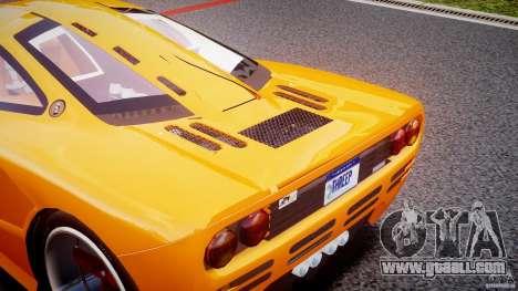 Mc Laren F1 LM v1.0 for GTA 4 inner view