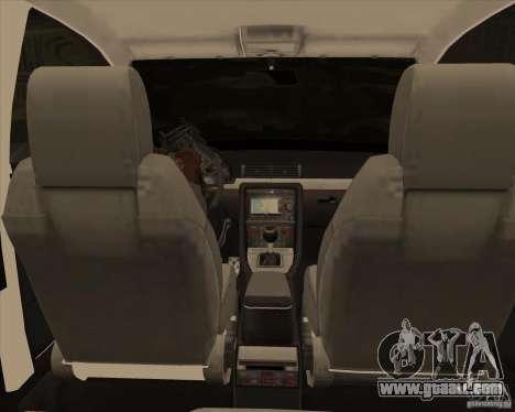 AUDI S4 Sport for GTA San Andreas upper view