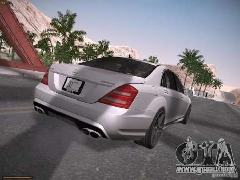 Mercedes Benz S65 AMG 2012 for GTA San Andreas right view