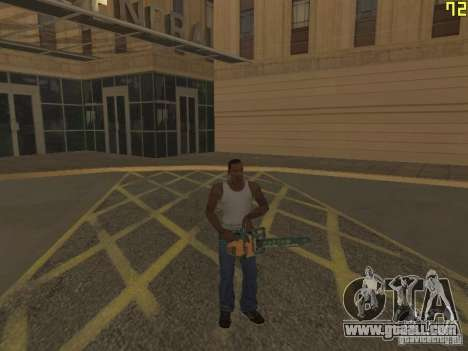 Regeneration of the arms in murder for GTA San Andreas