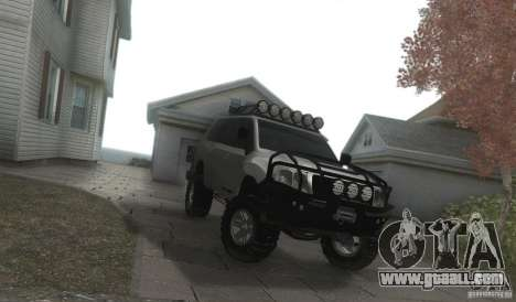 Toyota Land Cruiser 200 Off Road v1.0 for GTA San Andreas back view