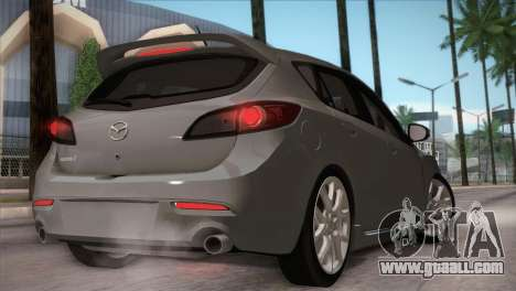 Mazda Mazdaspeed3 2010 for GTA San Andreas side view