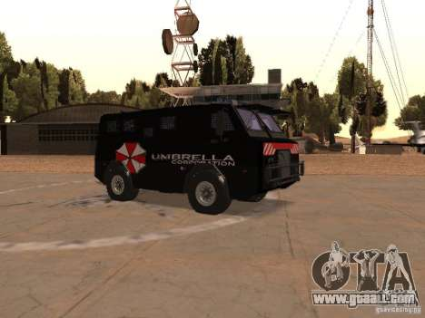 AM 7.0 Umbrella Corporation for GTA San Andreas inner view