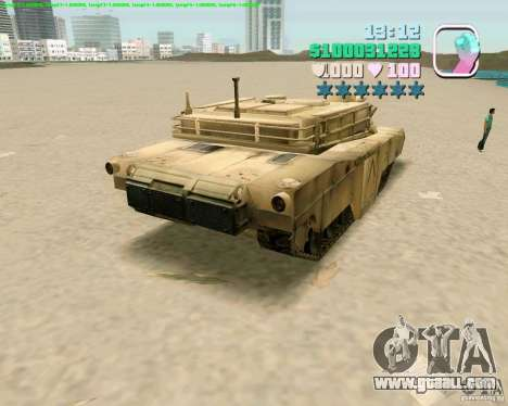 M 1 A2 Abrams for GTA Vice City fifth screenshot