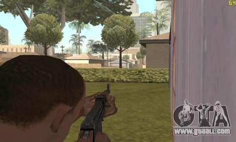 Kalashnikov Modernized for GTA San Andreas forth screenshot