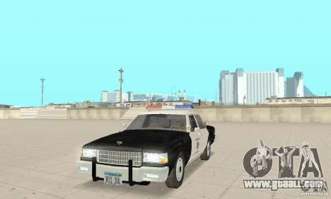 Chevrolet Caprice Interceptor 1986 Police for GTA San Andreas