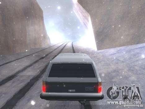 Snow MOD HQ V2.0 for GTA San Andreas fifth screenshot