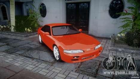 Nissan Silvia Ks 14 1994 v1.0 for GTA 4