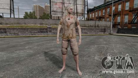 Geralt of Rivia v6 for GTA 4