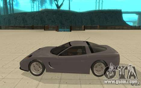 Coquette from GTA 4 for GTA San Andreas left view