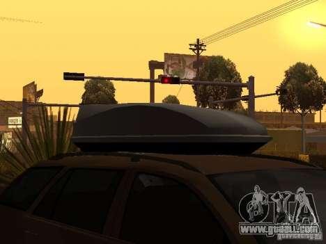 Skoda Octavia for GTA San Andreas bottom view