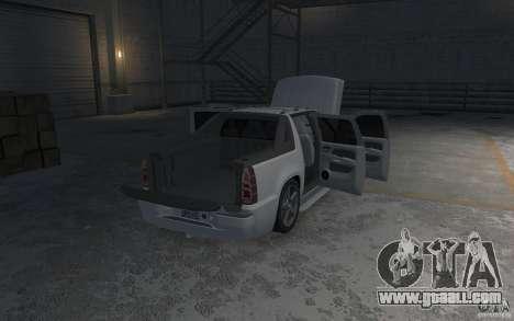 Chevrolet Avalanche v1.0 for GTA 4 bottom view