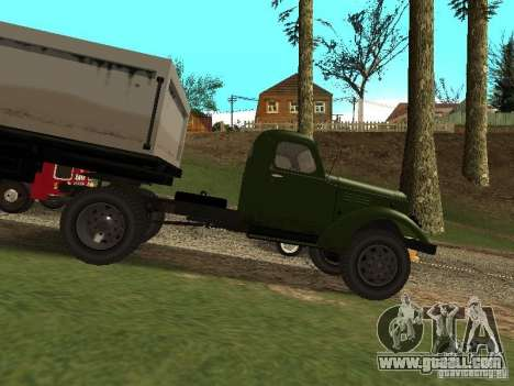 ZIL 164P for GTA San Andreas left view