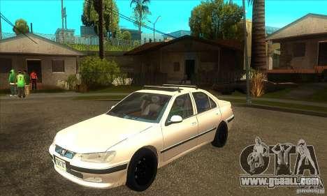 Peugeot 406 Sedan v1.0 for GTA San Andreas