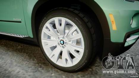 BMW X5 Experience Version 2009 Wheels 223M for GTA 4 bottom view