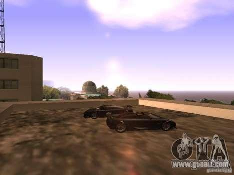 Koenigsegg CCXR Edition for GTA San Andreas engine