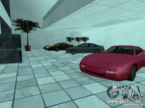 More cars at the motor show in Dougherty for GTA San Andreas