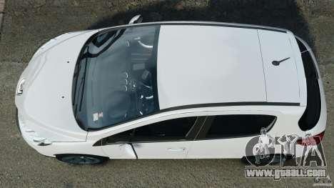 Peugeot 308 GTi 2011 v1.1 for GTA 4 right view