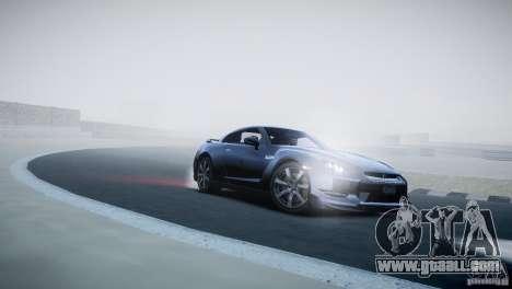 Nissan GT-R R35 V1.2 2010 for GTA 4 inner view