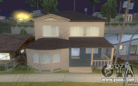 Four new houses on Grove Street for GTA San Andreas