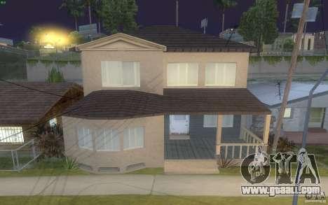 Four new houses on Grove Street for GTA San Andreas