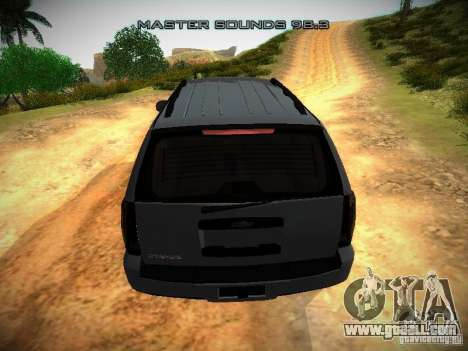 Chevrolet Tahoe HD Rimz for GTA San Andreas side view
