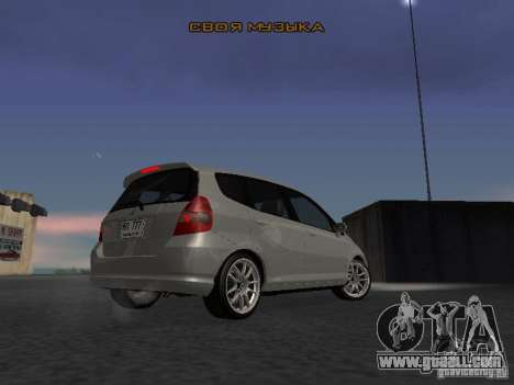 Honda Fit for GTA San Andreas right view