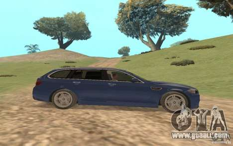 BMW M5 F11 Touring for GTA San Andreas upper view