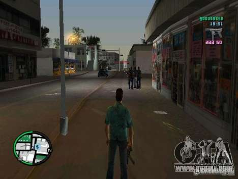 HUD from GTA IV 2.2 RC1 for GTA Vice City