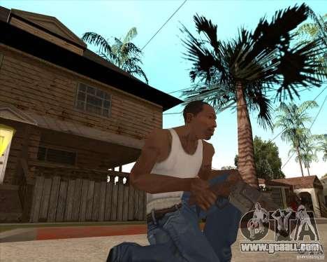CoD:MW2 weapon pack for GTA San Andreas eighth screenshot