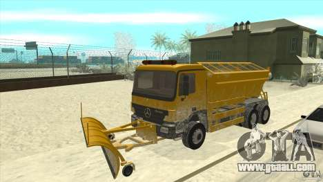 Mercedes-Benz Actros Snow Blower for GTA San Andreas