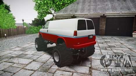 MEGA Speedo v0.9 for GTA 4 back left view