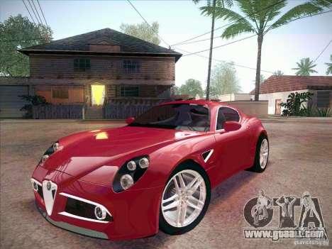 Alfa Romeo 8C Competizione v.2.0 for GTA San Andreas