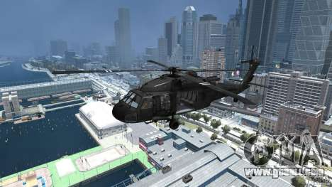 Sikorsky UH-60 Black Hawk for GTA 4