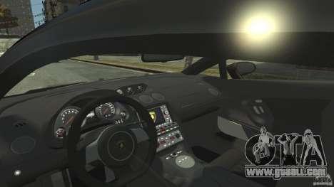 Lamborghini Gallardo SE Threep Edition [EPM] for GTA 4 inner view