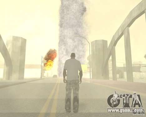 Tornado for GTA San Andreas seventh screenshot