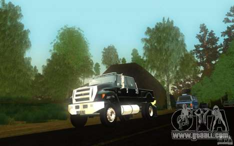 Ford F-650 for GTA San Andreas inner view