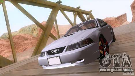 Ford Mustang GT 1999 for GTA San Andreas inner view