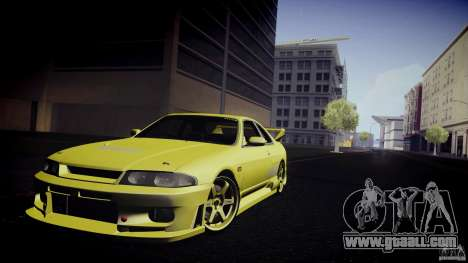 Nissan Skyline GTS R33 for GTA San Andreas