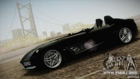 Mercedes-Benz SLR Stirling Moss 2005 for GTA San Andreas right view