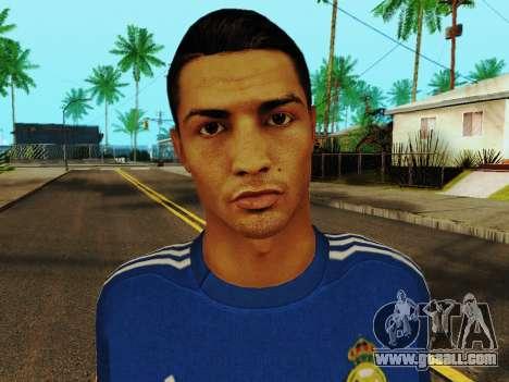 Cristiano Ronaldo v2 for GTA San Andreas sixth screenshot
