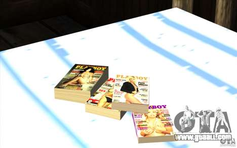 Playboy Magazines for GTA San Andreas third screenshot