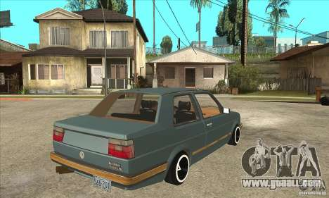 Volkswagen Jetta MKII VR6 for GTA San Andreas right view