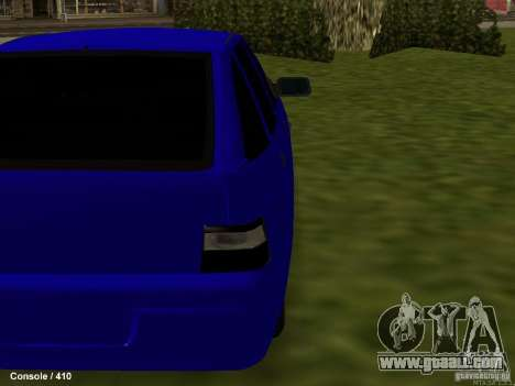 VAZ-2112 for GTA San Andreas back view