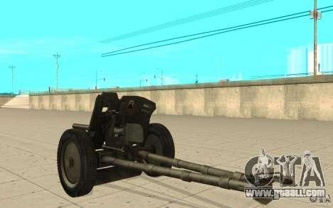 Regiment gun, 53-45 mm for GTA San Andreas back left view