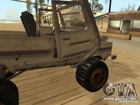 Luaz 969 Offroad for GTA San Andreas interior