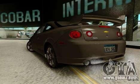 Chevrolet Cobalt SS for GTA San Andreas left view