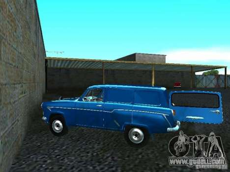 Moskvich 429 for GTA San Andreas back left view