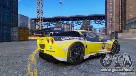Chevrolet Corvette C6R GT1 for GTA 4 left view